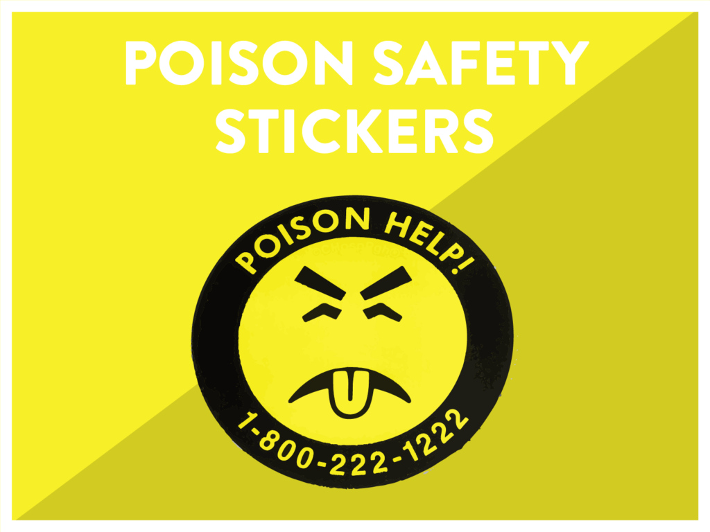 Poison Safety Stickers