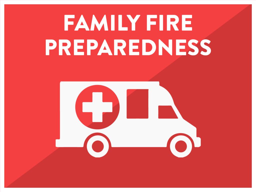 Family Fire Preparedness Red Cross
