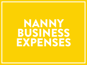 Nanny Business Expenses